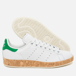 Женские кроссовки adidas Originals Stan Smith Luxe Vintage White/Green фото- 2