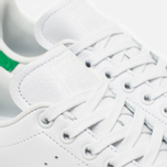 Женские кроссовки adidas Originals Stan Smith Luxe Vintage White/Green фото- 5