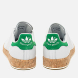 Женские кроссовки adidas Originals Stan Smith Luxe Vintage White/Green фото- 3