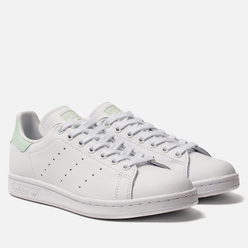 Женские кроссовки adidas Originals Stan Smith White/Dash Green/Core Black