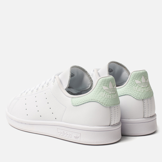 Женские кроссовки adidas Originals Stan Smith White/Dash Green/Core Black