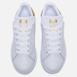 Женские кроссовки adidas Originals Stan Smith White/Gold фото- 4