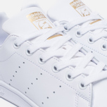 Женские кроссовки adidas Originals Stan Smith White/Gold фото- 5