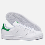Женские кроссовки adidas Originals Stan Smith White/Green фото- 1