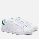 Женские кроссовки adidas Originals Stan Smith White/Green фото- 2