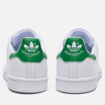 Женские кроссовки adidas Originals Stan Smith White/Green фото- 3
