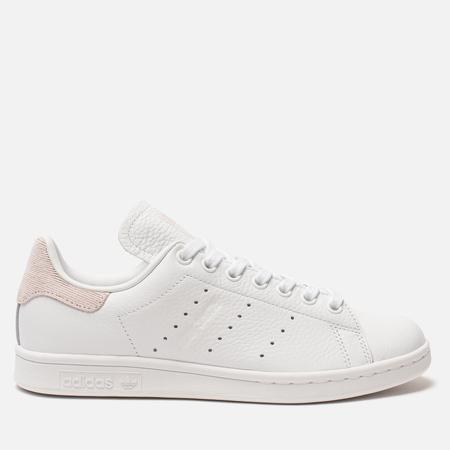 Женские кроссовки adidas Originals Stan Smith White/White/Orchid Tint