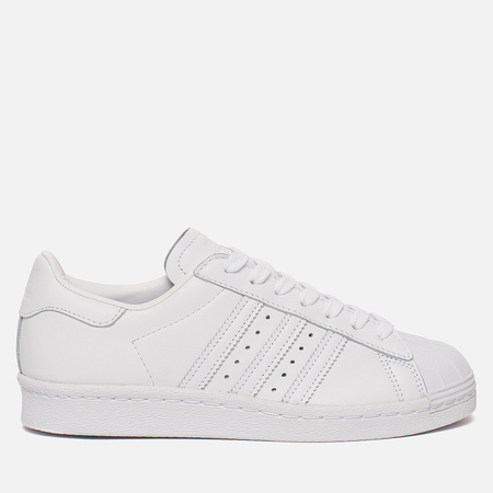 Женские кроссовки adidas Originals Superstar 80s Half Heart White/White/Scarlet