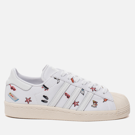 Женские кроссовки adidas Originals Superstar 80s White/White/Off White