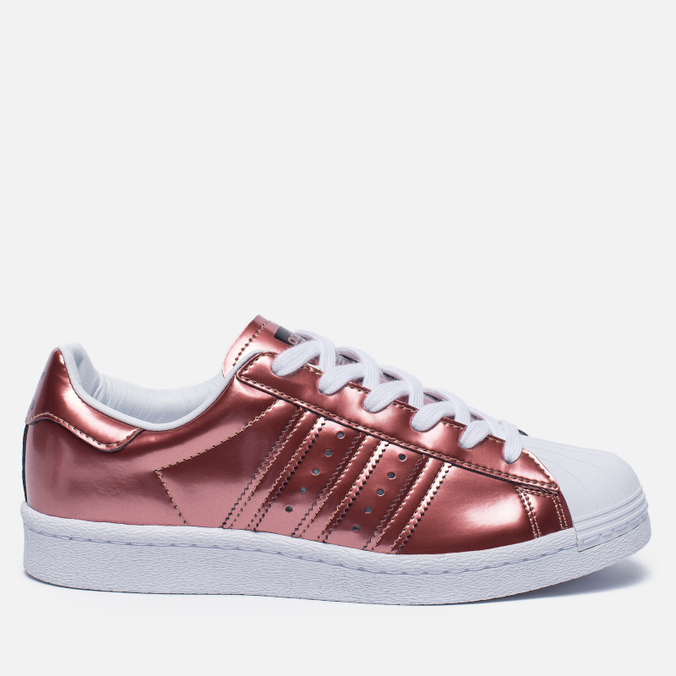 Женские кроссовки adidas Originals Superstar Boost Copper Metallic/White