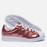 Женские кроссовки adidas Originals Superstar Boost Copper Metallic/White фото- 1