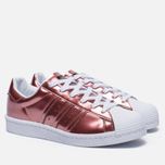 Женские кроссовки adidas Originals Superstar Boost Copper Metallic/White фото- 2