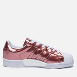 Женские кроссовки adidas Originals Superstar Boost Copper Metallic/White фото- 3