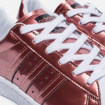 Женские кроссовки adidas Originals Superstar Boost Copper Metallic/White фото- 6