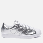Женские кроссовки adidas Originals Superstar Boost Silver Metallic/White фото- 0