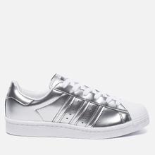 Женские кроссовки adidas Originals Superstar Boost Silver Metallic/White фото- 3