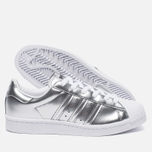 Женские кроссовки adidas Originals Superstar Boost Silver Metallic/White фото- 2