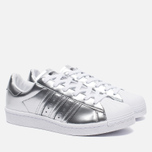 Женские кроссовки adidas Originals Superstar Boost Silver Metallic/White фото- 3