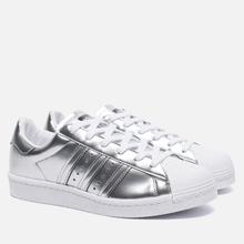 Женские кроссовки adidas Originals Superstar Boost Silver Metallic/White фото- 0