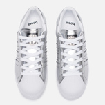 Женские кроссовки adidas Originals Superstar Boost Silver Metallic/White фото- 5