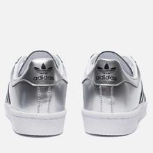 Женские кроссовки adidas Originals Superstar Boost Silver Metallic/White фото- 2