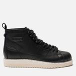 Женские кроссовки adidas Originals Superstar Boot Core Black/Core Black/Off White фото- 0