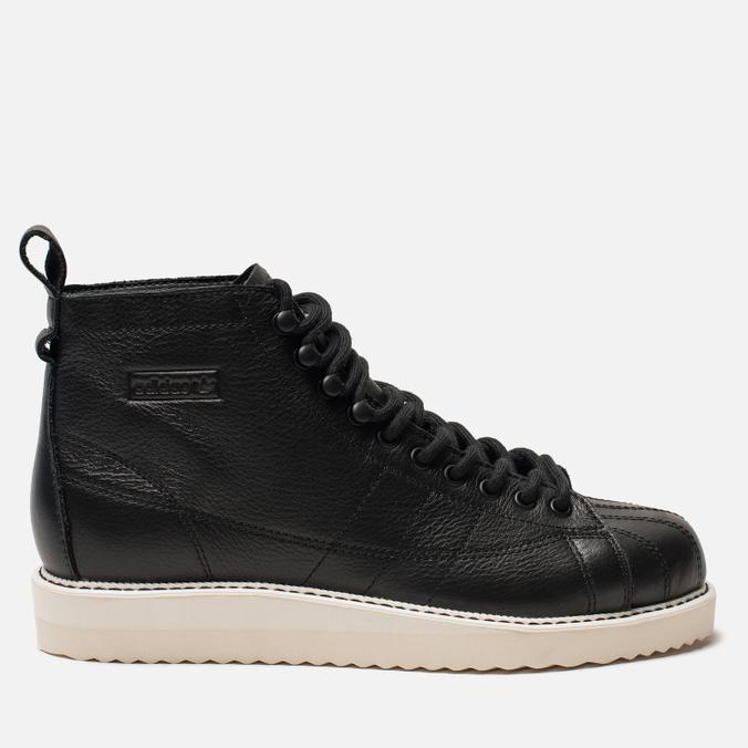 Женские кроссовки adidas Originals Superstar Boot Core Black/Core Black/Off White
