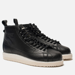 Женские кроссовки adidas Originals Superstar Boot Core Black/Core Black/Off White фото- 2
