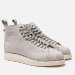Женские кроссовки adidas Originals Superstar Boot Grey Two/Grey Two/Off White фото- 1