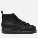 Женские кроссовки adidas Originals Superstar Boot Luxe Core Black/Core Black/White фото- 0
