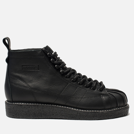 Женские кроссовки adidas Originals Superstar Boot Luxe Core Black/Core Black/White