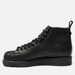 Женские кроссовки adidas Originals Superstar Boot Luxe Core Black/Core Black/White фото- 2