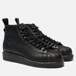 Женские кроссовки adidas Originals Superstar Boot Luxe Core Black/Core Black/White фото- 1