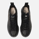 Женские кроссовки adidas Originals Superstar Boot Luxe Core Black/Core Black/White фото- 5