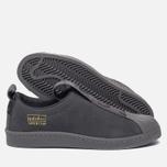 Женские кроссовки adidas Originals Superstar BW3S Slip-On Grey Five/Grey Five/Grey Three фото- 2