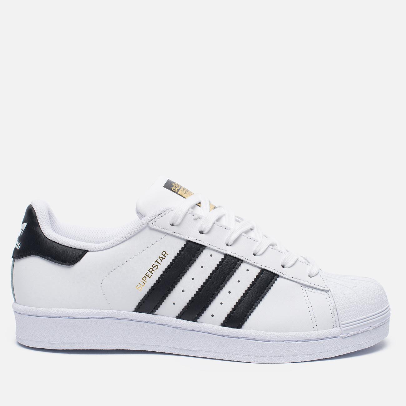 Женские кроссовки adidas Originals Superstar Running White/Black