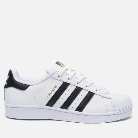 Женские кроссовки adidas Originals Superstar Running White/Black