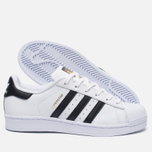 Женские кроссовки adidas Originals Superstar Running White/Black фото- 1
