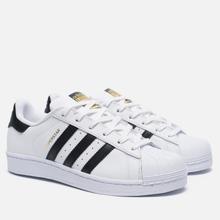 Женские кроссовки adidas Originals Superstar Running White/Black фото- 0