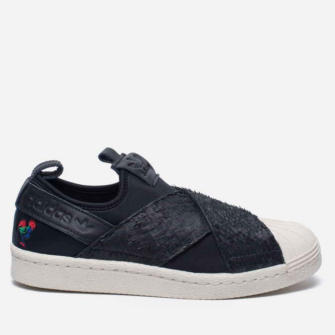 Женские кроссовки adidas Originals Superstar Slip-On Core Black/Core Black/Chalk White