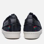 Женские кроссовки adidas Originals Superstar Slip-On Core Black/Core Black/Chalk White фото- 3