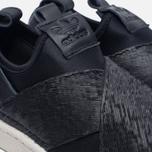 Женские кроссовки adidas Originals Superstar Slip-On Core Black/Core Black/Chalk White фото- 5