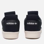 Женские кроссовки adidas Originals Superstar Slip-On Core Black/Core Black/Off White фото- 3