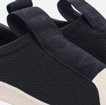 Женские кроссовки adidas Originals Superstar Slip-On Core Black/Core Black/Off White фото- 5
