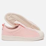 Женские кроссовки adidas Originals Superstar Slip-On Icey Pink/Icey Pink/Off White фото- 1