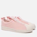 Женские кроссовки adidas Originals Superstar Slip-On Icey Pink/Icey Pink/Off White фото- 2