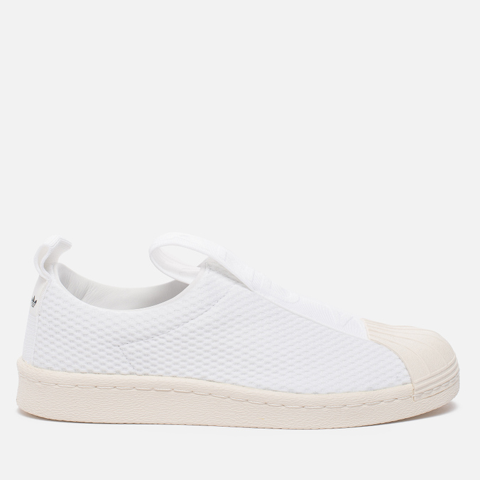 Женские кроссовки adidas Originals Superstar Slip-On Running White/Running White/Legacy White