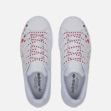 Женские кроссовки adidas Originals Superstar Valentine's Day Cloud White/Core Black/Glory Pink фото- 1