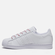 Женские кроссовки adidas Originals Superstar Valentine's Day Cloud White/Core Black/Glory Pink фото- 5