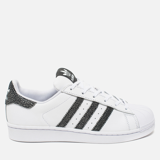 Женские кроссовки adidas Originals Superstar White/Core Black/Reflective